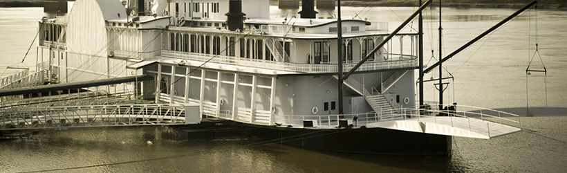Riverboats on the Mighty Mississippi